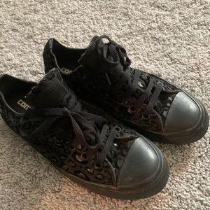 Converse Leopard Sneakers W9